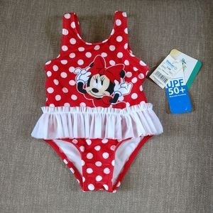 Other - Minnie Mouse swimsuit NWT